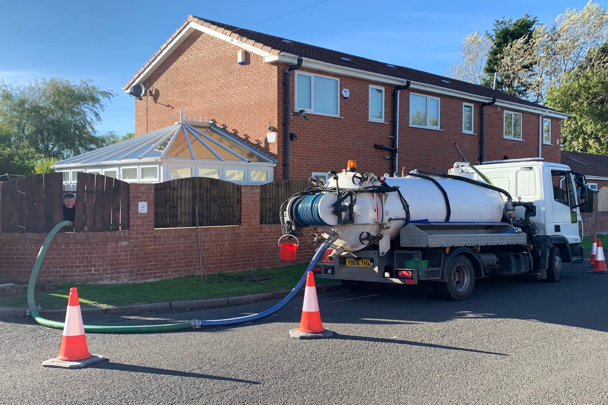 Roberts and son Septic Tanks & Jetting HGV
